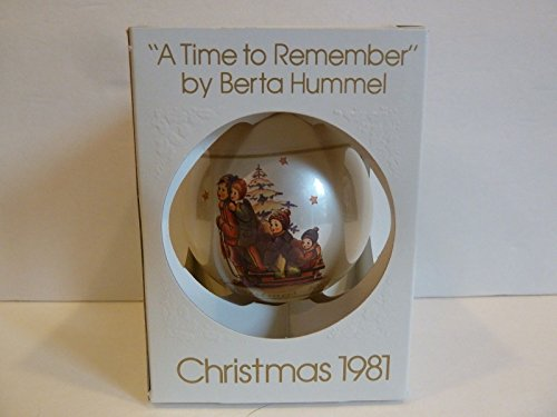 "1981 ""A Time to Remember"" Berta Hummel Ball Ornament"
