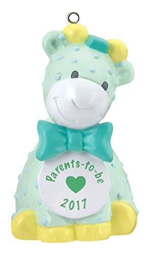 Carlton Heirloom Ornament 2017 Parents to Be – Giraffe – #CXOR011M