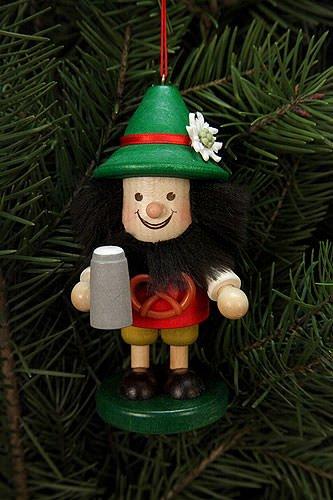 Tree ornaments Tree ornament Bavarian – 10,5cm / 4 inch – Christian Ulbricht