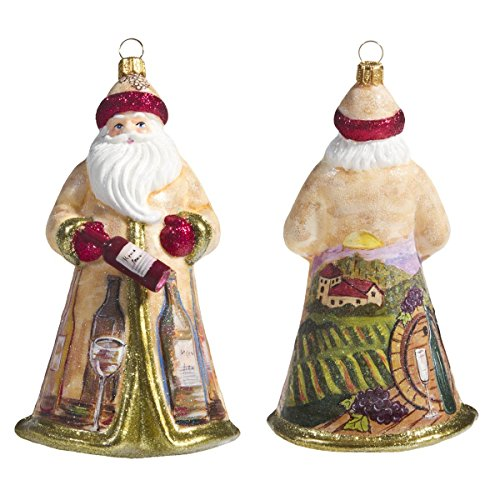 Joy To The World Collectibles- Glitterazzi Vineyard Santa