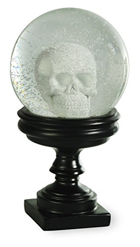 Boston International GAC16415 Albert's Skull SnowGlobe, Skull