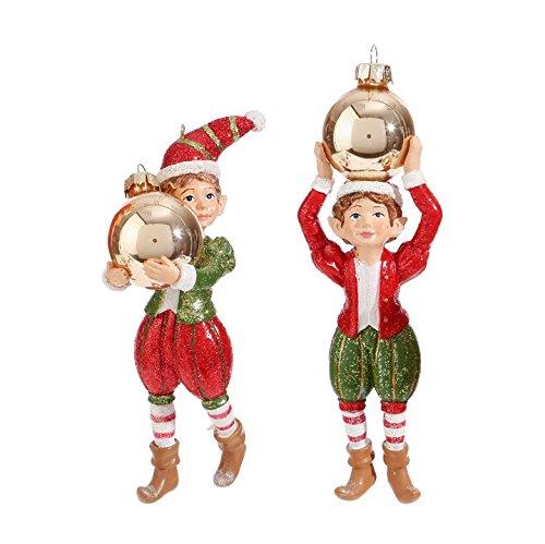 RAZ Imports 5.5″ Elf Ornament