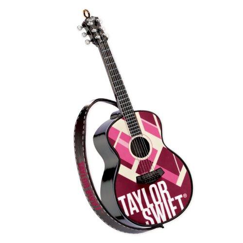 Carlton Cards Heirloom Taylor Swift Musical Guitar Christmas Ornament