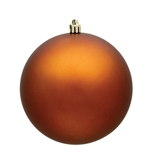 Vickerman 490785 – 3″ Copper Matte Finish Ball Christmas Tree Ornament (32 pack) (N596888M)