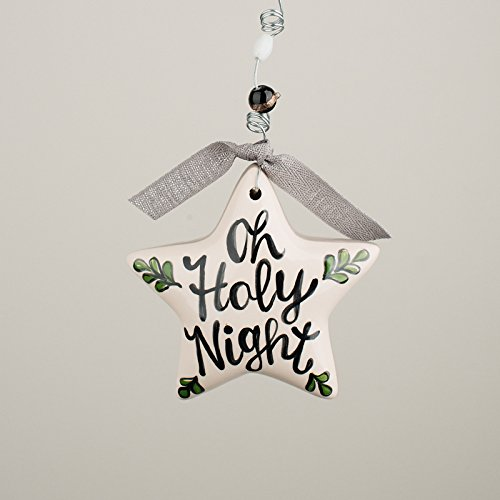 Glory Haus, Inc Oh Holy Night Puff Star Ornament