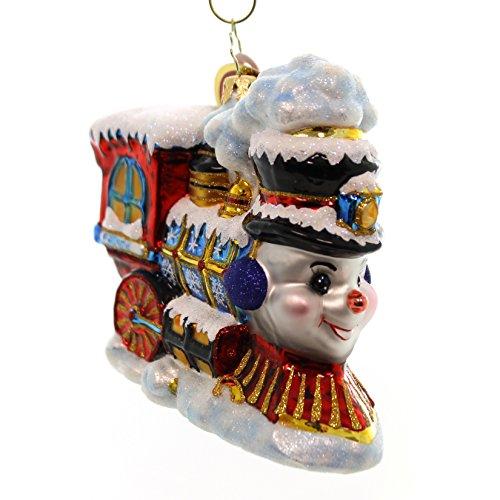Christopher Radko Frosty Express Ornament