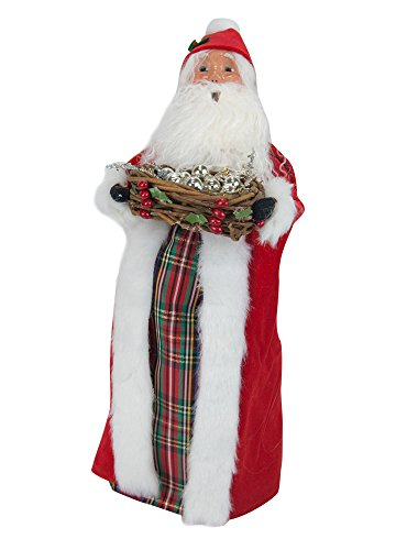 Byers' Choice Santa with Silver Balls #ZMS280 – LIMITED EDITION