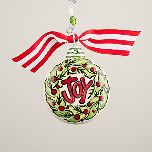 Glory Haus, Inc Joy Wreath Puff Ornament