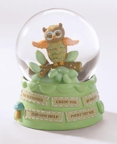 Roman 5.5 inch Baby Owl Waterglobe 60816