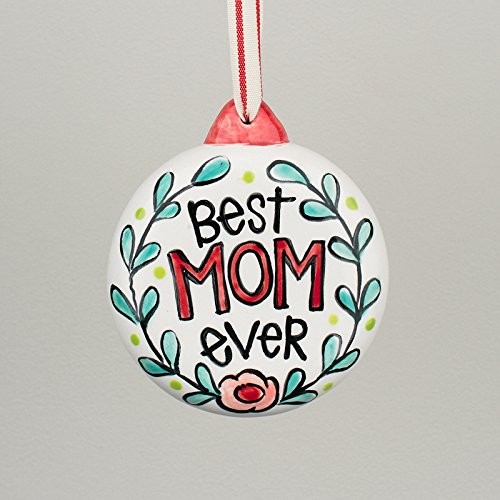 Glory Haus 2990101 Best Mom Ever Puff Ornament