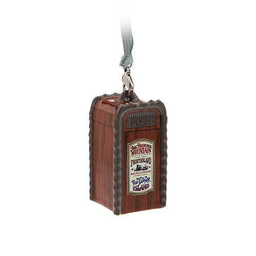 Disney Frontierland Trash Can Ornament