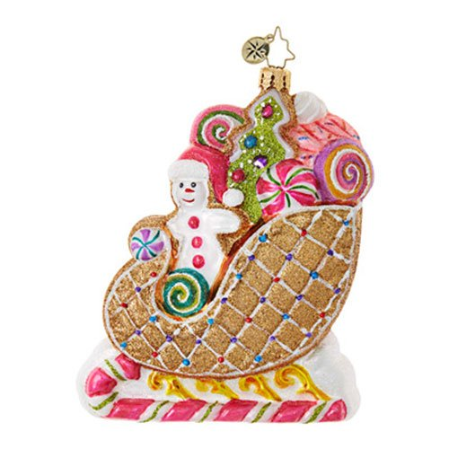 Christopher Radko Positively Tasty! Candy & Sweets Christmas Ornament