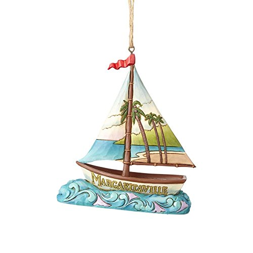 Enesco Margaritaville by Jim Shore Margaritaville Sailboat Ornament