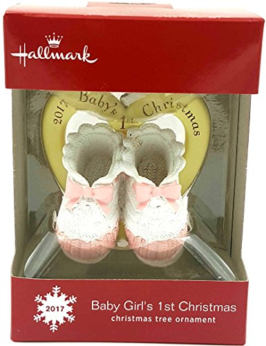 2017 Hallmark Baby Girl's 1st Christmas – Tree Ornament
