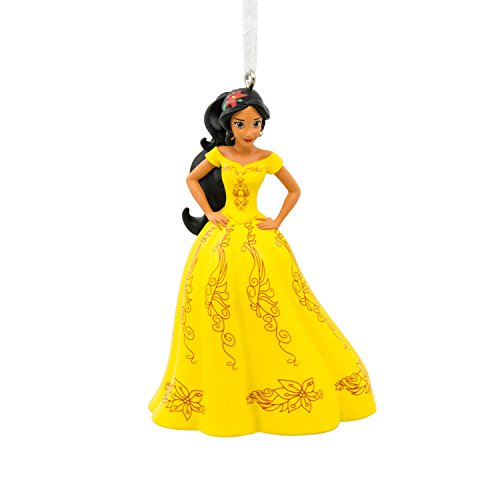 Hallmark Disney Junior Elena of Avalor Christmas Dress Christmas Ornament