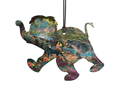 Disney The Jungle Book Elephant Shaped Hanging Acrylic Decoration Ornament