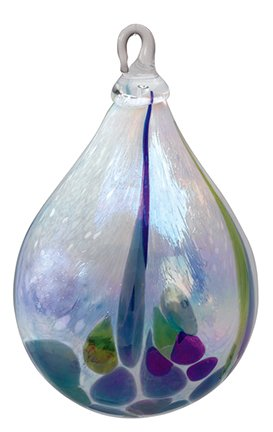 Glass Eye Studio Rainforest Classic Raindrop Ornament