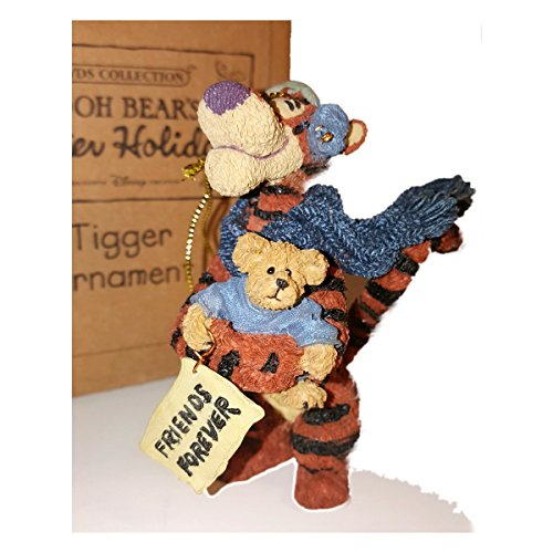 Boyd's Pooh Bear's Winter Holiday Tigger Ornament
