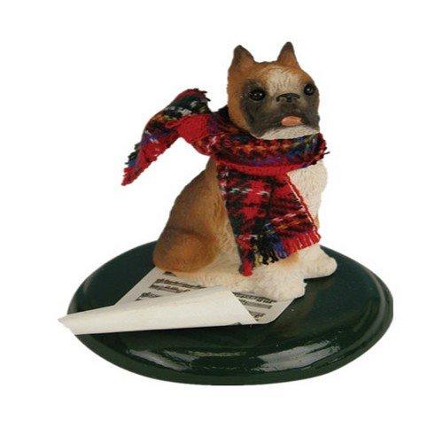 Boxer Caroling Dog