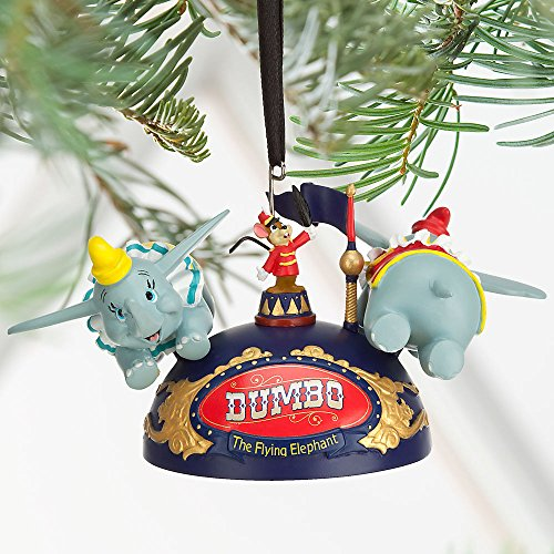 Disney Dumbo the Flying Elephant Ear Hat Ornament Blue