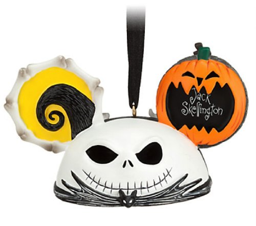 Jack Skellington and Zero Ear Hat Disney Ornament-Nightmare Before Christmas
