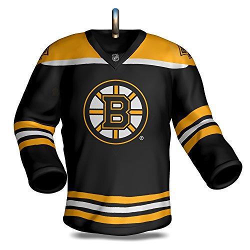 Hallmark Keepsake 2017 NHL Boston Bruins Jersey Christmas Ornament