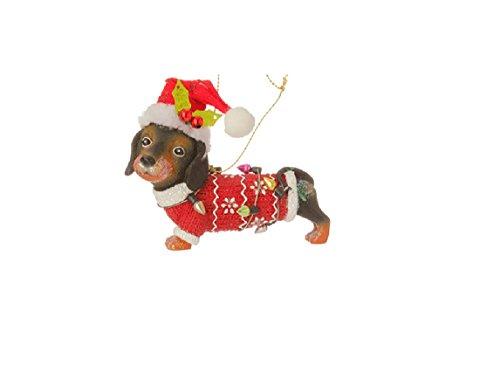 RAZ Imports – Dog Ornaments (Dachshund)