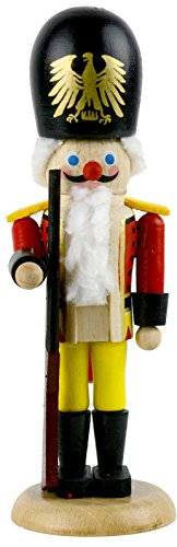 The Military Guard Steinbach Mini German Nutcracker 5.5″ King's Court Series Collection Christmas