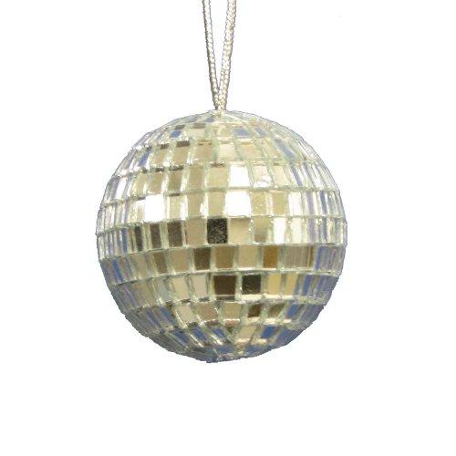 Kurt Adler 2″ Mirror Balls, 12 Piece Set