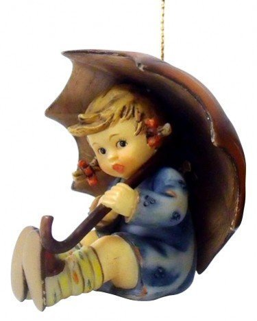 M.I. Hummel Christmas Ornament – Umbrella Girl by M I Hummel
