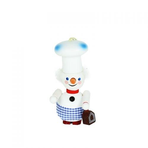 Ornament Baker Snowman