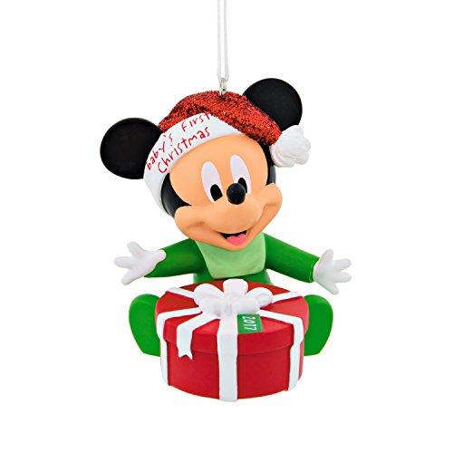 Hallmark Disney Mickey Mouse 2017 Baby's 1st Christmas Ornament