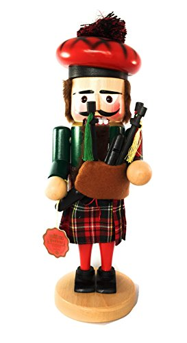 Steinbach Nutcrackers Troll Bagpiper 15 Inches Tall Kurt Adler Brand New Hand Made in Germany