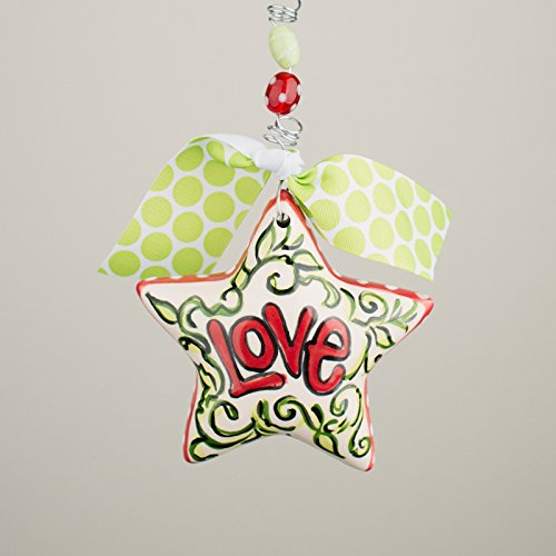 Glory Haus 2990127 Love Star Puff Ornament