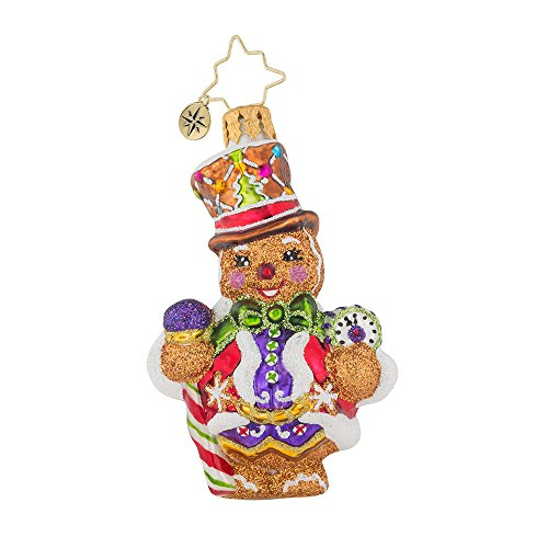 Christopher Radko Right On Time Ginger Little Gem Christmas Ornament