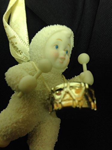 Snowbabies Holiday Drummer Christmas Ornament