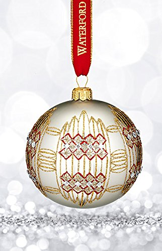 Waterford Nostalgic Dungarvan Silver Ball Ornament