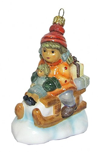 Hummel figurine Christmas ornament Christmas delivery, original MI Hummel Collection, gift-boxed