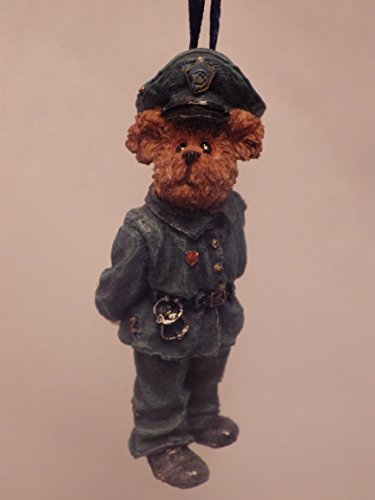 """Officer Grizzley"" the Police Bear Christmas Ornament"