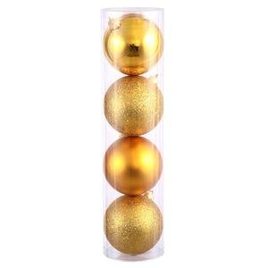Vickerman 24″ Antique Gold 4 Finish Ball Ornament 24 per Box