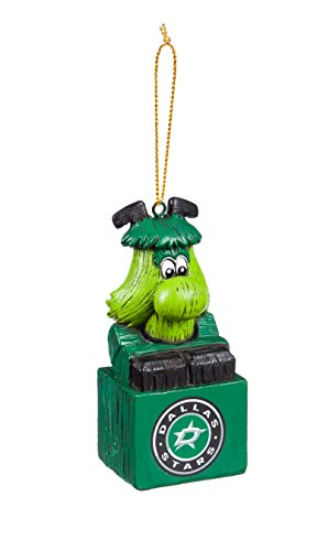 Team Sports America Dallas Stars Team Mascot Ornament