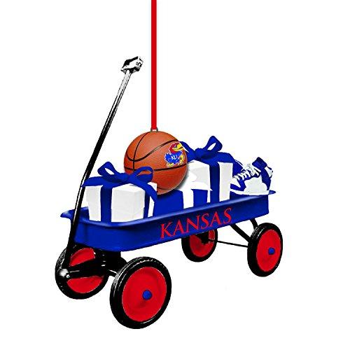 Team Sports America Univ. of Kansas Team Wagon Ornament
