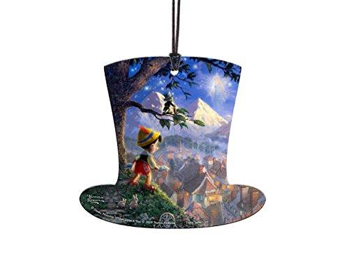 Disney Pinocchio Top Hat Shaped Hanging Acrylic – Thomas Kinkade Art