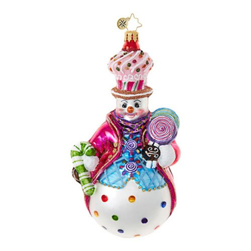 Christopher Radko Couldn't Be Sweeter Candy & Sweets Christmas Ornament