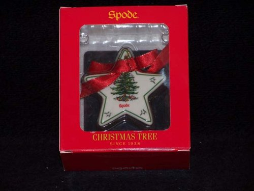 Spode Christmas Tree Ornament Flat Star
