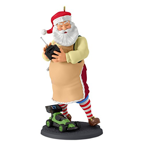 Hallmark Keepsake 2017 Toymaker Santa Radio Controlled Car Christmas Ornament