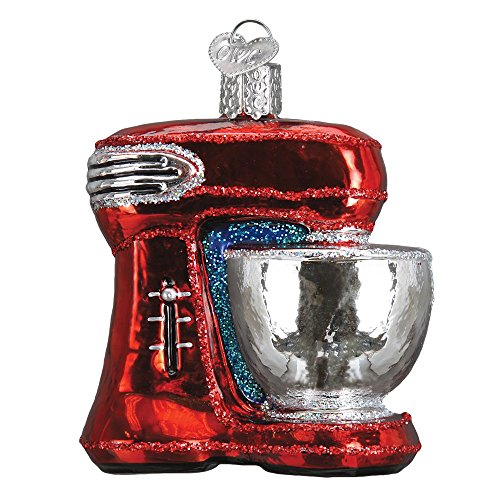 Old World Christmas Mixer Glass Blown Ornament