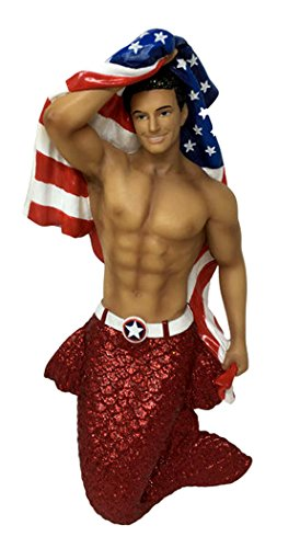 December Diamonds Merman Ornament – Patriot