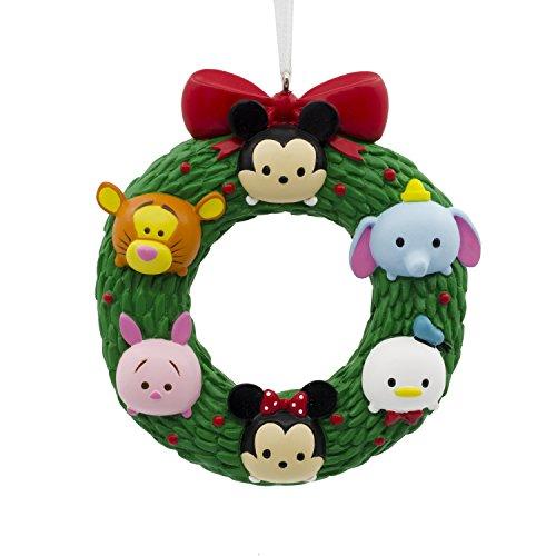 Hallmark Disney Tsum Tsum Wreath Christmas Ornament