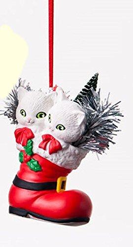 Kittens in Boot Ornament